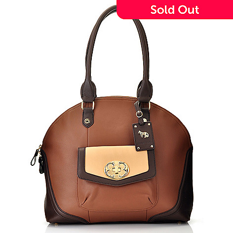 710-597 - Emma Fox Leather Dome Satchel