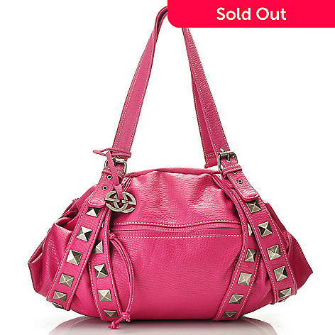 710-607 - Red by Marc Ecko ''Layla'' Zip Top Double Handle Satchel