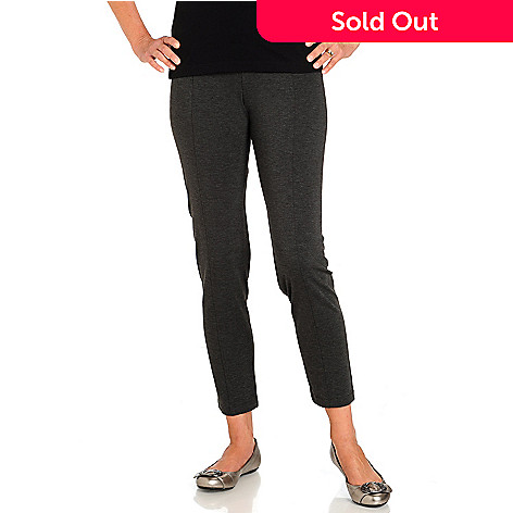 710-662 - Kate & Mallory Ankle Length Ponte Pull-on Pants