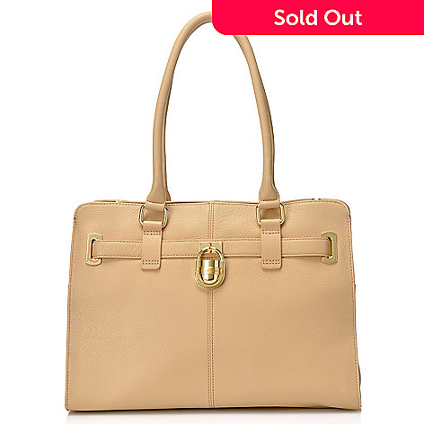 710-684 - Calvin Klein Handbags Leather Convertible Tote