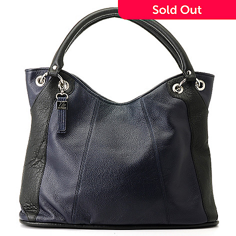 710-772 - Buxton® ''Milano'' Leather Hobo Bag