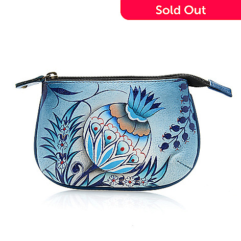 710-775 - Anuschka Hand-Painted Leather Coin Purse