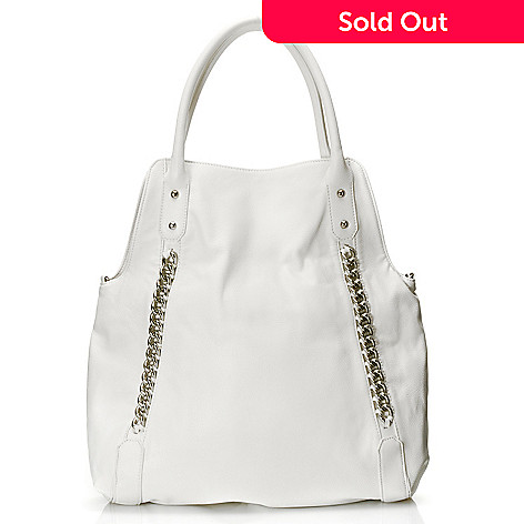 710-793 - Carlos by Carlos Santana Chain Detailed Fold Over Tote Bag