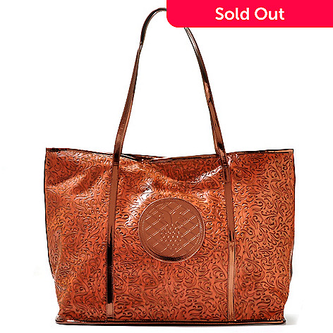 710-831 - Annabelle ''Patricia'' Scroll Design Tote Bag