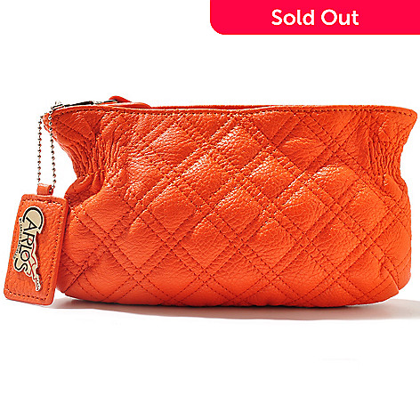 710-845 - Carlos by Carlos Santana ''Maria Maria'' Quilted Cosmetic Clutch