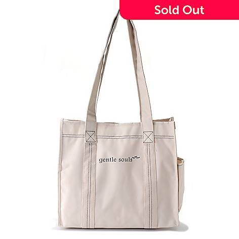710-854 - Gentle Souls by Kenneth Cole Canvas Tote Bag