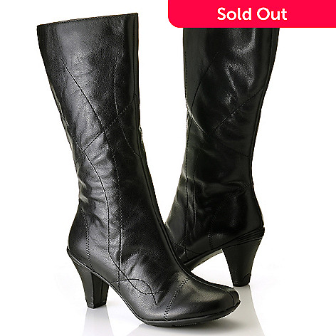 710-858 - Gentle Souls by Kenneth Cole ''O' When'' Leather Dress Boots