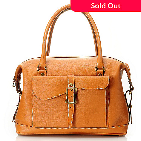 710-965 - PRIX DE DRESSAGE Leather ''Acclaim'' Satchel