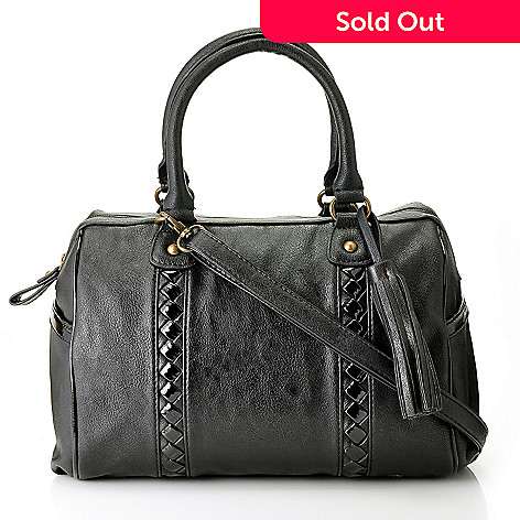 711-078 - Carlos by Carlos Santana ''Interlude'' Zip Top Satchel Handbag