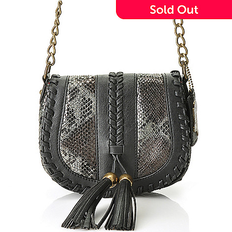 711-083 - Carlos by Carlos Santana ''Terenza'' Tassel Detailed Cross Body Bag