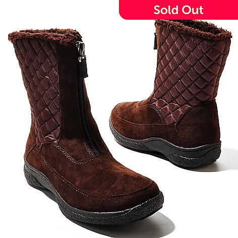 711-289 - Propet ''Alta'' Zip Front Mid-Calf Boots