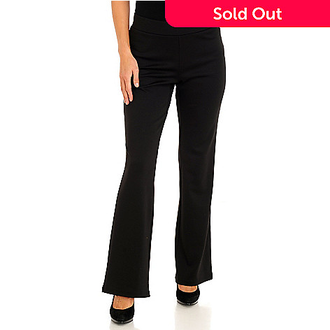 711-357 - Kate & Mallory Stretch Ponte Boot Cut Pants