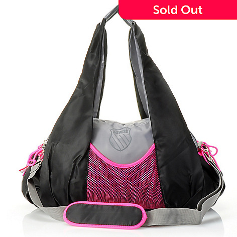 711-387 - K-Swiss® ''Defination'' Large Zip Top Duffle Bag