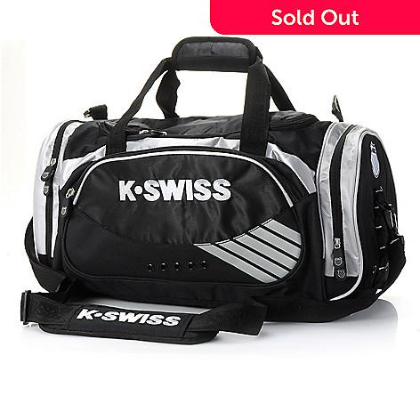 711-388 - K-Swiss Unisex Classic Zip Top Duffle Bag