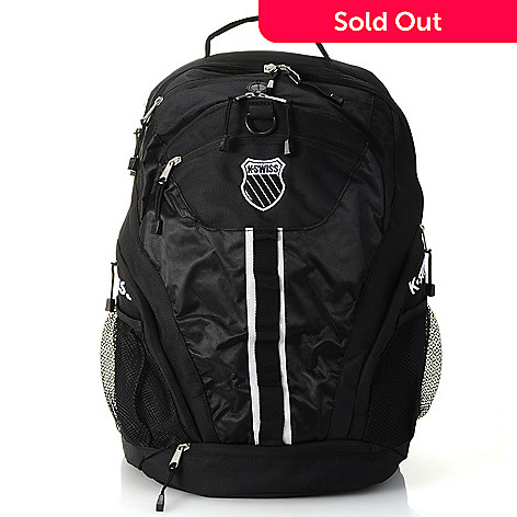 711-389 - K-Swiss Unisex Multi Pocket Zippered Large Back Pack