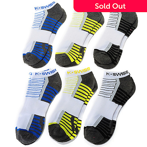 711-391 - K-Swiss® Men's Six-Pack Athletic Socks