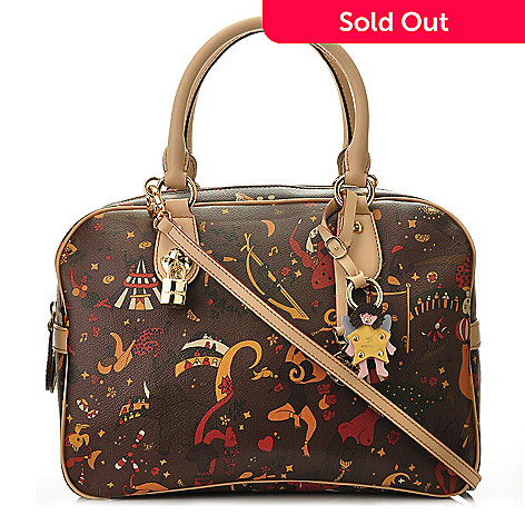 711-400 - Piero Guidi ''Gloria'' Double Handled Satchel
