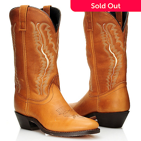 711-804 - Laredo® Leather ''Abby'' Round Toe Western Boots