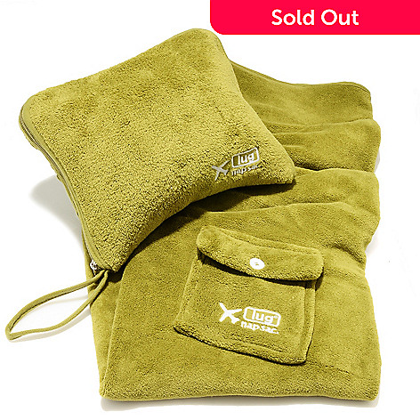 711-888 - lug® Nap Sac™ Fleece Blanket & Pillow Travel Set