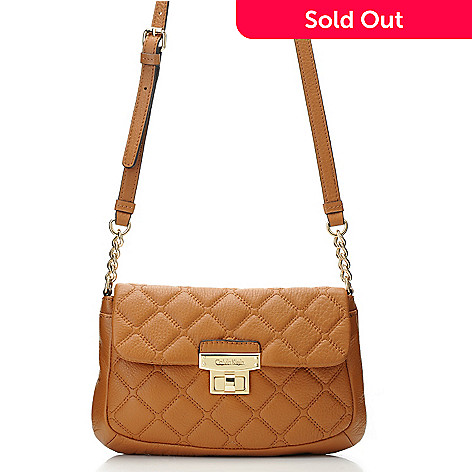 711-932 - Calvin Klein Handbags Quilted Leather Cross Body
