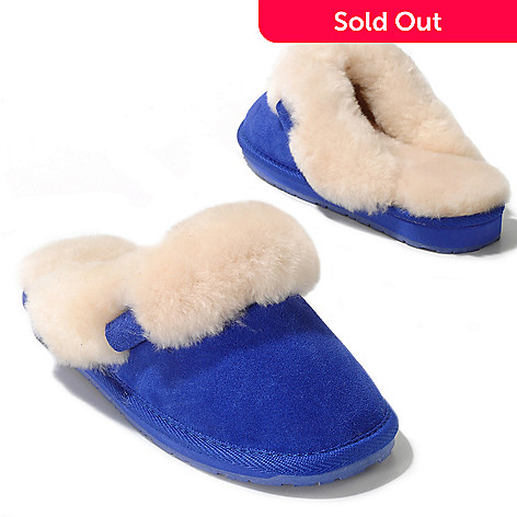 711-943 - EMU Sheepskin & Suede Leather Slippers
