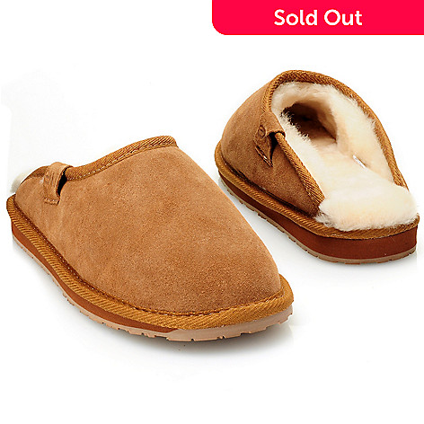 711-949 - EMU Men's Sheepskin & Suede Leather Slippers