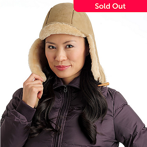 711-953 - EMU® Women's Sheepskin ''Super Tube'' Bomber Hat