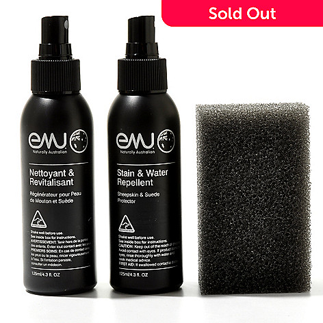 712-001 - EMU Three-Piece Sheepskin & Suede Care Kit