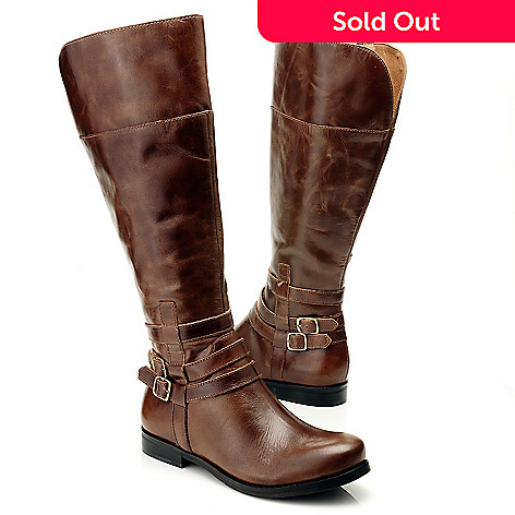 712-058 - Matisse® Leather ''Rochelle'' Wide Width Riding Boots
