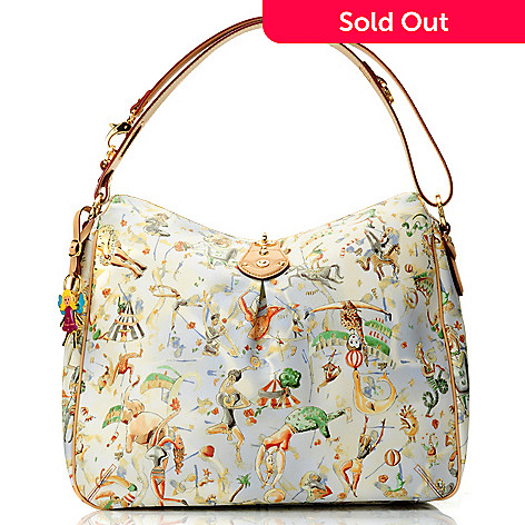 712-070 - Piero Guidi Magic Circus Cherie Collection Hobo Handbag