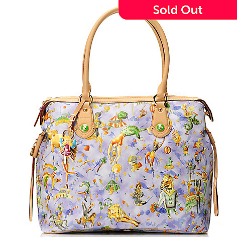 712-072 - Piero Guidi Magic Circus Cherie Collection Medium Tote Bag