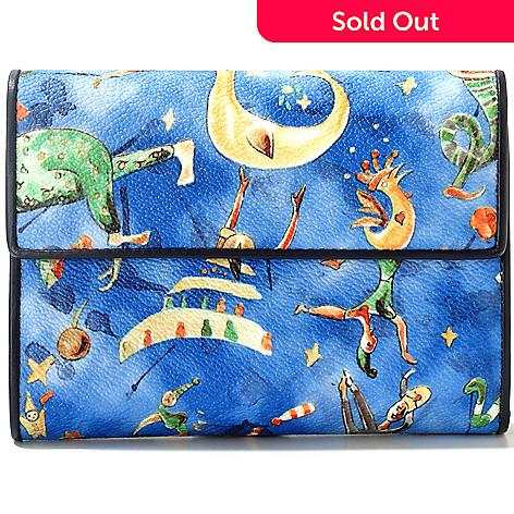 712-073 - Piero Guidi Magic Circus Cherie Collection Tri-Fold Wallet