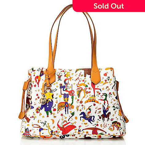 712-076 - Piero Guidi Magic Circus ''Marzia'' Medium Tote Bag