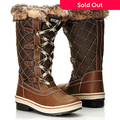 712-111 - Cougar Footwear Waterproof ''Aspen'' Lace-up Quilted Boots