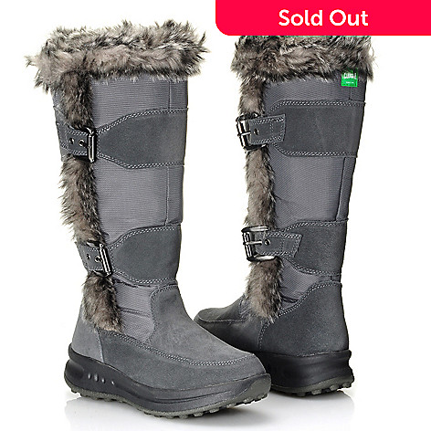 712-115 - Cougar Footwear Waterproof Faux Fur Trimmed Insulated Knee-High Boots