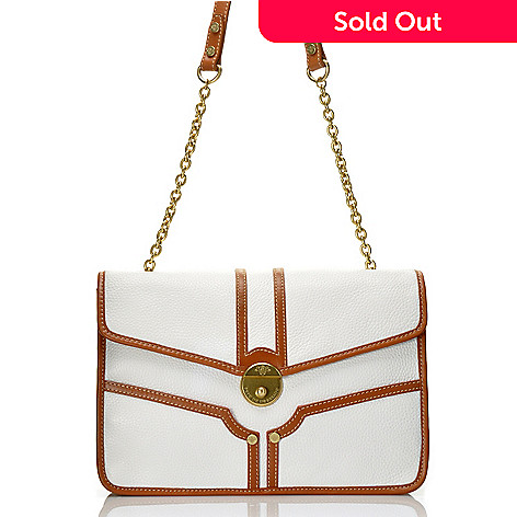 712-135 - PRIX DE DRESSAGE Leather Chain Detailed Shoulder Bag