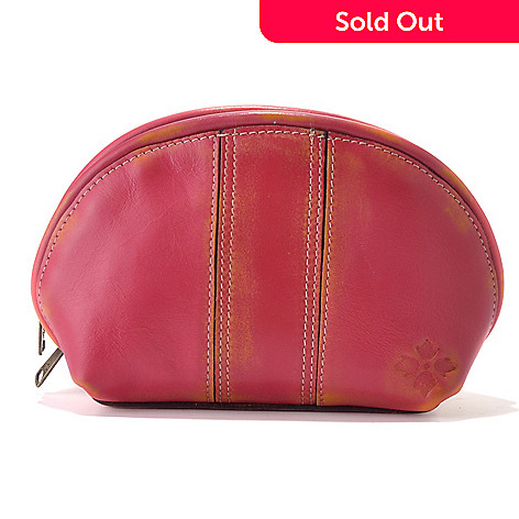 712-155 - Patricia Nash Leather ''Sevilla'' Cosmetic Case