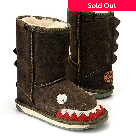 712-405 - EMU® Kid's Suede Leather ''Little Creatures'' Ankle Boots