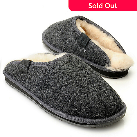 712-406 - EMU ''Brookhill'' Men's Sheepskin & Wool Slippers