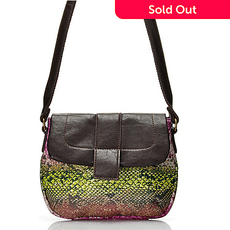 712-446 - One World Cotton Flap-Over Cross Body Bag