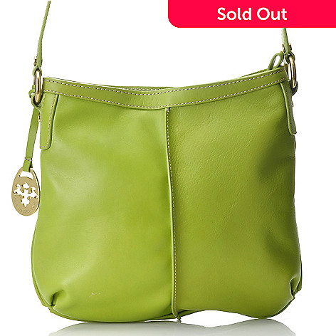 712-468 - PRIX DE DRESSAGE Leather Zip Top Cross Body Bag