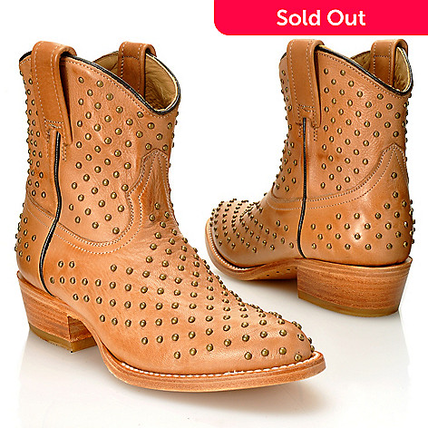 712-590 - Matisse® Leather ''Faithful'' Studded Short Boots