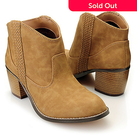 712-815 - Michael Antonio® ''Massey'' Western-Inspired Ankle Boots