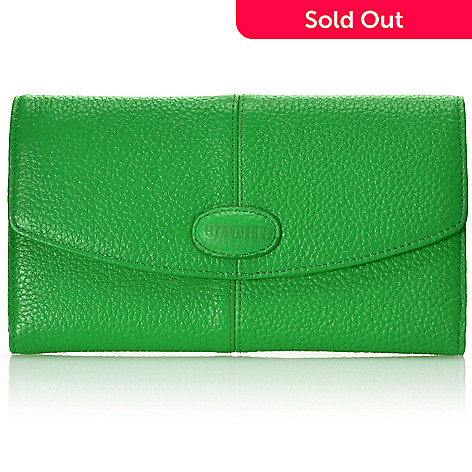712-851 - Bodhi Leather ''Candy'' Large Tri-Fold Wallet