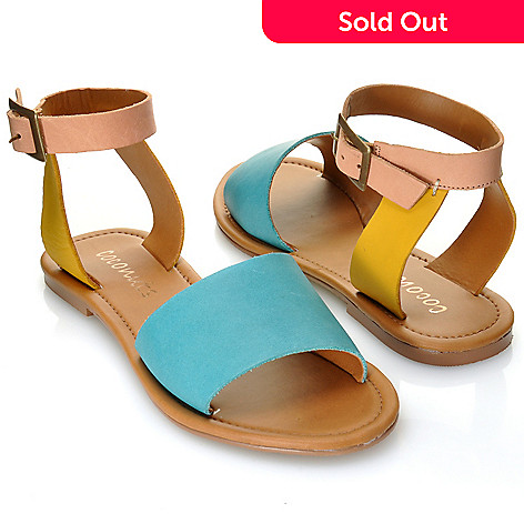 712-937 - Matisse® Leather ''All About'' Ankle Strap Sandals
