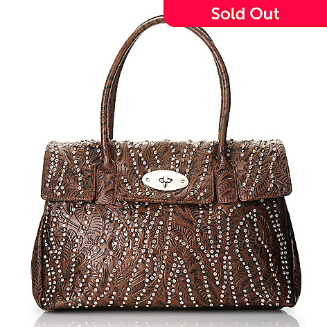 712-985 - Bag Chique Studded Hobo Handbag