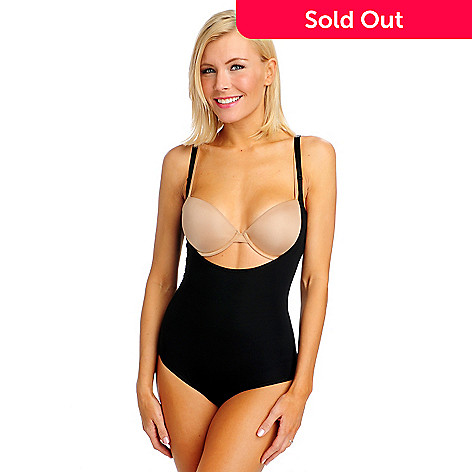 713-266 - Slim-A-Size Spandex Knit ''Wear Your Own Bra'' Cupless Shaping Bodysuit