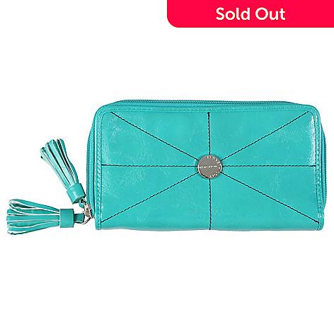 713-275 - Kenneth Cole Reaction Women's Double Zipper Clutch Wallet
