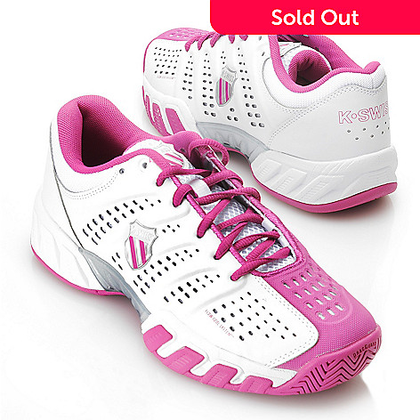 713-391 - K-Swiss® Women's Big Shot™ Light'' Lace-up Tennis Shoes