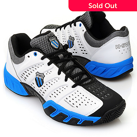713-393 - K-Swiss® Men's ''Big Shot™ Light'' Lace-up Tennis Shoes
